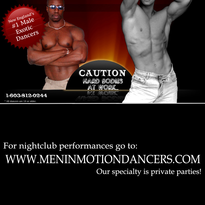 What boston male strippers are not